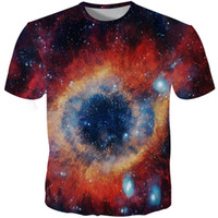 Cloudstyle 2018 Mens Galaxy T Shirt 3D Print Tshirt Space St...