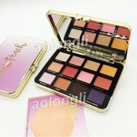 Faced Makeup White Peach eyeshadow palette 12 Color shimmer ...