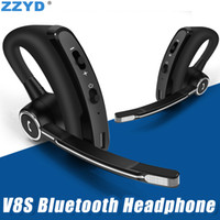 ZZYD V8S Bluetooth Headphone Business Stereo Earphone with M...