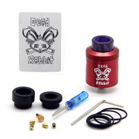 Dead rabbit rda rebuildable atomizer bottom dripping 24mm di...