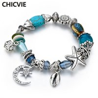 CHICVIE Moon & Stars Friendship Bracelets & Bangles Charms F...