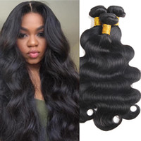 Cheap Mink Brazilian Human Hair 3 Bundles Body Wave Hair Wea...