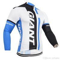 2018 Giant team Cycling Jersey Maillot Ciclismo long Sleeve ...