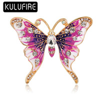 KULUFIRE Butterfly Brooch Pin Top Grade Large broches de nav...