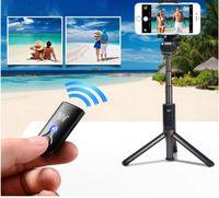 3 в 1 Беспроводной Bluetooth Selfie Stick мини-штатив выдвижной монопод универсальный для iPhone 8 X 7 6s Plus для Samsung(3 цвета)