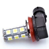 High Quality DC12V H11 H8 18 LED 5050 SMD Car Auto Day Driving Fog Lights Headlighit Lamp Bulb White