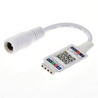 واي فاي البسيطة RGB تحكم بلوتوث DC5V 12V 24V موسيقى مصغرة بلوتوث تحكم ضوء الشريط تحكم ل RGB LED قطاع