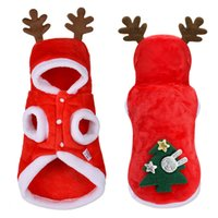 Christmas Dog Clothes Small Dogs Santa Costume for Pug Chihu...
