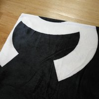 Fashion black white flannel comfortable blanket children adu...