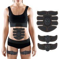 Músculo Estimulador Corpo Emagrecimento Shaper Máquina Abdominal Muscular Exercitador de Treinamento de Gordura Queima de Gordura do Edifício Do Corpo Massageador de Fitness