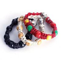 Cordons fabriqués à la main, tuyaux perlés, nouveau bracelet à usage quotidien, accessoires pour fumer des pipes portables en métal