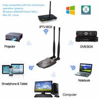 3000MW 고전력 N9100 무선 USB 어댑터 Beini 무료 인터넷 USB 무선 네트워크 카드 와이파이 어댑터 디코더 듀얼 안테나