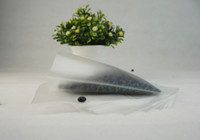 10x15cm matte transparent flat bag middle sealed, 100pcs hea...