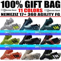 Wholesale New 2018 Mens Nemeziz 17+ 360 Agility FG Football ...