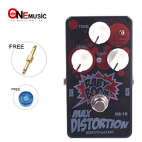 Biyang Gitarren Bass Effektpedal Max Distortion DS-10 True Bypass Baby Boom