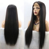 Full Lace Human Hair Wigs Silky Straight Peruvian Virgin Hai...