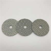 3 Step Polishing Pad 4 inch (100 mm) for Granite Marble Arti...
