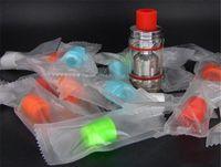 810 Disposbale Damla İpucu Renkli Serin Damla İpuçları TFV8 TFV12 Atomizer Silikon Test Ağızlık Bireysel Paketi Ücretsiz DHL