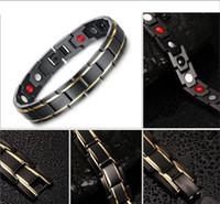 Bracelet aimanté en hématite magnétique longueur 22 cm. Bracelet avec perle en hématite magnétique. Energie anti-fatigue, 2 couleurs au choix