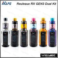 Wismec Reuleaux RX Gen3 Dual Zestaw 230 W z Gnome King Cank 5.8ml RX Gen3 Dual Mod withapgradeable Firmware 100% oryginału