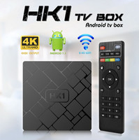 Android 7. 1 TV BOX HK1 Amlogic S905W Quad Core 2GB 16GB Stea...