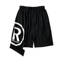 Pantalones cortos holgados hombres Kilt Harajuku Bermudas Masculina Hip Hop Streetwear Pantalones cortos para hombre Gótico Ropa rave Punk Ingenieros corporales