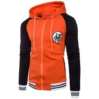Contrast Color Panelled Zipper Hooded Sweatshirt Jacket Coat...