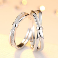 Lovers ring men and women S925 sterling silver jewelry