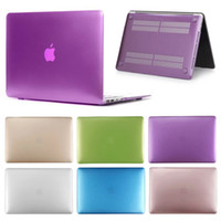 Matte Metallfarbe Laptop Hard Case für Macbook Air 13 12 11 Neues Macbook Pro 13 15 Mit Retina Display Touch Bar Cover