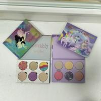 في المخزن!! مستحضرات التجميل Love Luxe Beauty Fantasy Palette Makeup أنت رائع بشكل لا تصدق ظل العيون ظلال العيون 6 ألوان