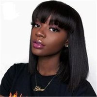 Remy Human Hair Lace Front Wig Brazilian Hair Straight Wigs ...