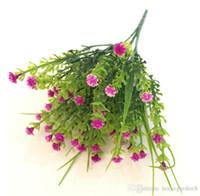 장식 디스플레이 꽃다발 시뮬레이션 물 잔디 별이 가득 푸른 잔디 뜨거운 판매 작은 꽃 도매 공장 직접 판매