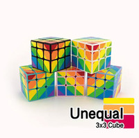 Magic Cube Jouets Puzzle Magic Twist Jeu Jouets Unequal Magic Cube Adulte et Enfants Coloré Apprentissage Jouets Éducatifs Cadeaux