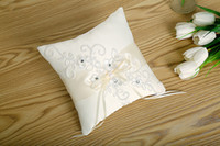 Hot Sell 2018 Square Lace Wedding Ring Pillows Cheap Sale Rh...