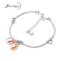 Wedding Real 925 Silver Bracelets Girls Fine Jewelry, Natural...
