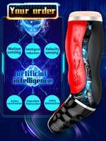 2018 Vibratoren Oralsex Maschine Pussy Männlicher Masturbator Vagina Sexspielzeug Für Männer Erwachsene Produkte