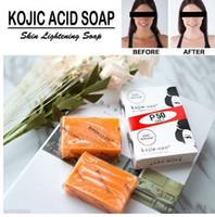 Kojie San Handmade Whitening Soap Hautaufhellung Seife Bleichen Kojisäure Glycerin Seife Tiefenreinigung Erhellen Sie die Haut