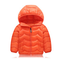 Winter Jacket Boy Kid Light Duck Down Coat Children Hooded W...