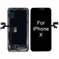 Для 100% Тест Высокое Качество OLED ЖК-Замена Для Pantalla iPhone X Дисплей 3D Сенсорный Экран Digitizer Ассамблеи Черный Цвет + Бесплатный DHL