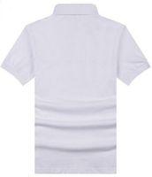 773928c58 Levando Novos Homens Brit Camisa Polo Homem Manga Curta camisas Sólidas  Marcas camisas Verão polos de Londres Bege Preto 2XL