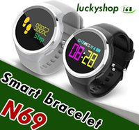 IP68 waterproof smartwatch N69 with Clock alarm Sedentary re...