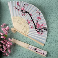 1Pcs Summer Women Girl Dancing Fan Elegant Plum Blossom Flow...