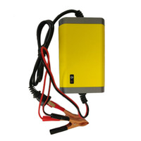 Freeshipping 12V 2A Intelligent auto Car Battery Charger Voltage Rechargeable Battery Power Charger 220V Automatic Power Supply hot selling