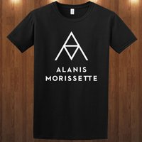 Make T Shirts Short O- Neck Tall Alanis Morissette S M L Xl 2...