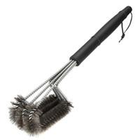 BARBEKÜ Izgara Fırça Paslanmaz Çelik Barbekü Temizleme Aracı Dokuma Tel En Iyi Fiyat BARBEKÜ Temizleme Fırçası Temizleme BARBEKÜ Aksesuarları