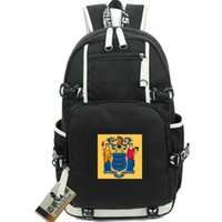 أحدث جيرسي حقيبة حديقة حديقة الدولة العلم Daypack Liberty و Prosperity America Schoolbag Usa الكمبيوتر المحمول Rucksack الرياضة حقيبة مدرسية