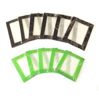 Cojín de láminas de cocina de silicona pequeña Cojín de pasta de silicona de calidad alimentaria Alfombra círculo verde, negro, rojo