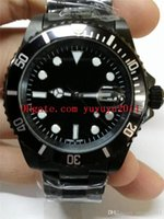aaa luxury watch man mens brand watches black ceramic automa...