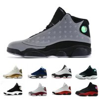 New Hot 13 mens trainers Basketball Shoes 3M Reflective pand...