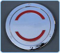 Yüksek kaliteli krom arabanın yakıt tankı dekorasyon kapağını Honda Vezel 2014-2017 için yağ tankı koruyucu kapağı ABS